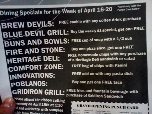If you head to Brew Devils, you can pick up this list and the punch card that goes along with it.